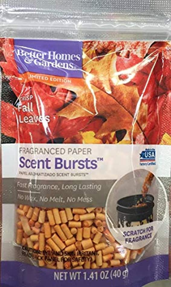 死逃れる縮約Better Homes and Gardens香りバーストCrisp Fall Leaves 1.41 Oz