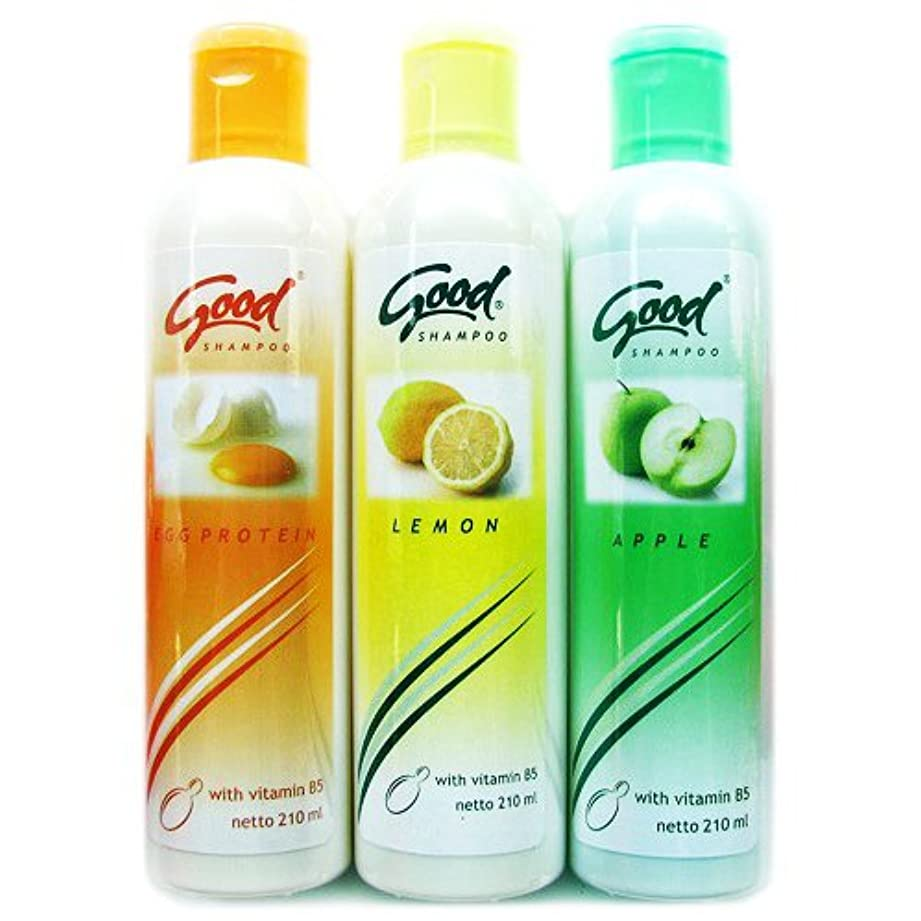 部分的に思春期の下に向けますGOOD(グッド)シャンプー 210ml [並行輸入品][海外直送品] レモン