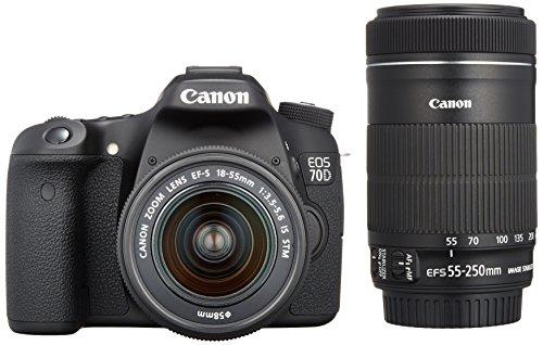 Canon デジタル一眼レフカメラ EOS 70D ダブルズ...