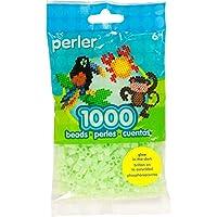 パーラーの楽しい融合ビーズ 1000年/Pkg の輝き緑