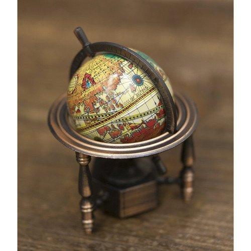 RoomClip商品情報 - ミニチュア アンティーク シャープナー 鉛筆削り レトロ 地球儀