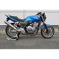 【WR'S ダブルアールズ】チタンサイレンサーフルエキゾーストタイプ「HONDA CB400SF H-V REVO/SB/ABS 2008~2009」