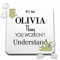BrooklynMeme名–Its an Olivia Thing–10x 10インチパズル( P。_ 252217_ 2)