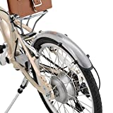 DAYTONA Pottering Bike(デイトナ ポタリングバイク) DE01専用フェンダーセット シルバー