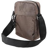 Mens Gents Waterproof Shoulder Bag Cross Body Messenger Travel Bag Satchel