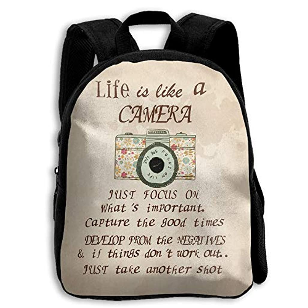 メディック黒南キッズ リュックサック バックパック キッズバッグ 子供用のバッグ キッズリュック 学生 カメラ 芸術 アウトドア 通学 ハイキング 遠足