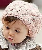 シンプルデザイン! ベビー ボンボン 耳付き ニットキャップ ポンポン ニット帽 女の子 男の子 赤ちゃん キッズ ニット 帽子 子供服 (ベビー)