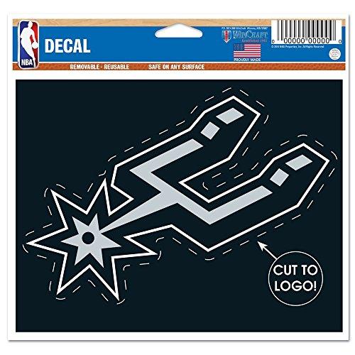 ステッカー NBA サンアントニオ スパーズ チームロゴ