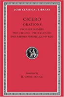 Pro Lege Manilia. Pro Caecina. Pro Cluentio. Pro Rabirio Perduellionis Reo (Loeb Classical Library)