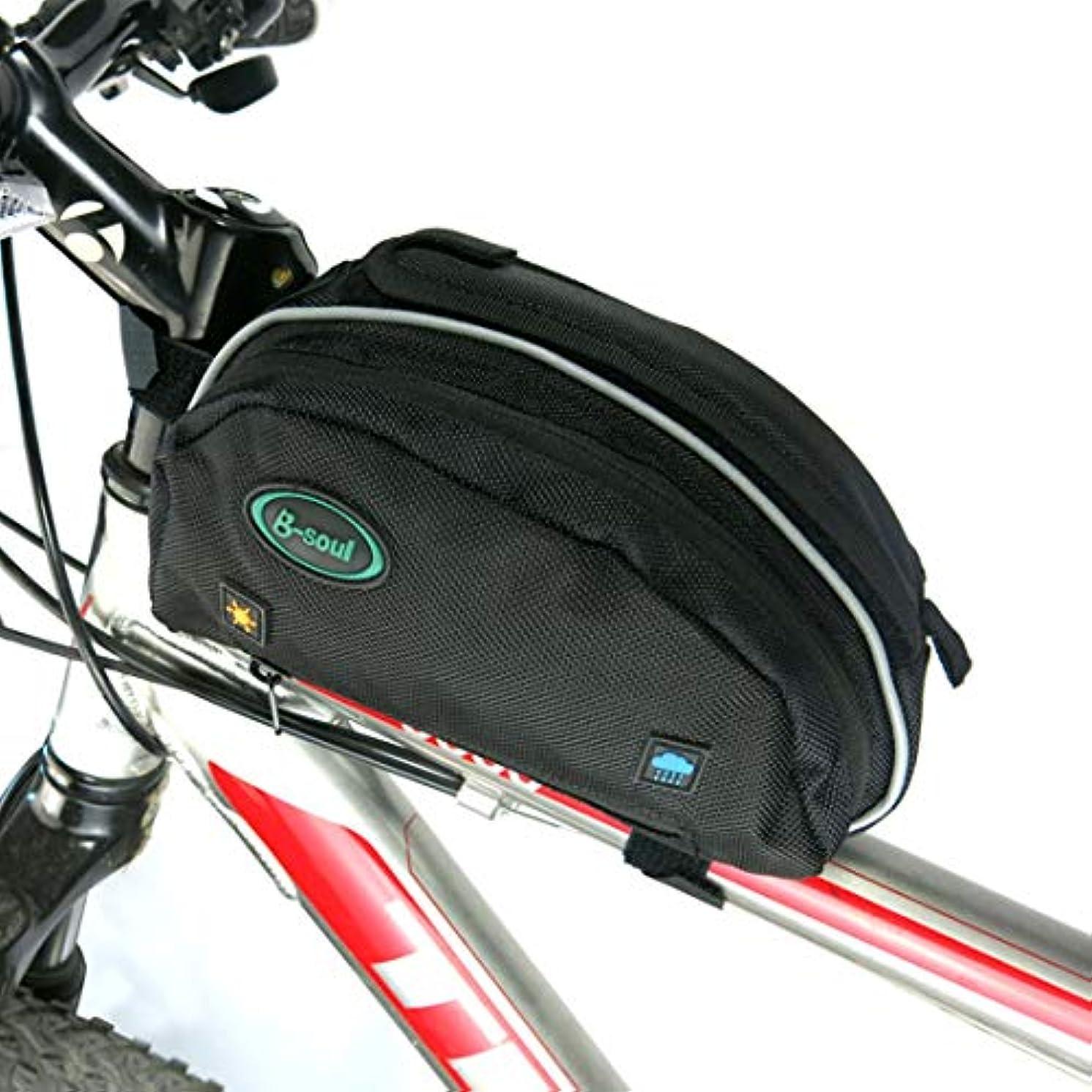 表面枯渇半導体CAFUTY 防雨MTBロードバイクアクセサリーシートポストバッグテールリアポーチバッグ自転車バッグ自転車サドルバッグ (Color : ブラック)
