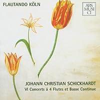 Schickhardt: Flute & Continuo
