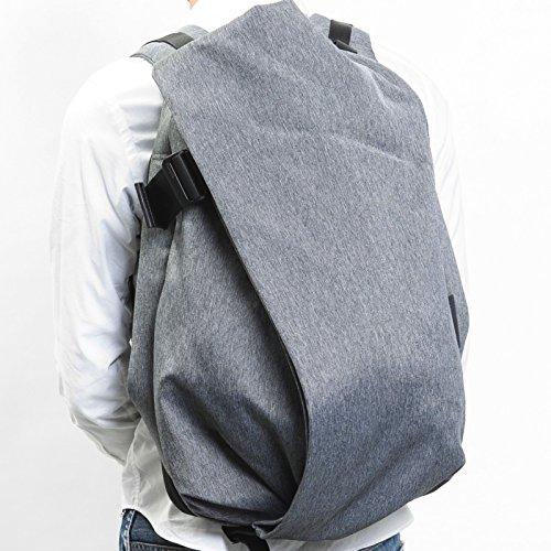 (コートアンドシエル) Cote&Ciel Laptop Rucksack / IsarRucksack / Lサイズ(15-17インチ) ノートパソコン / Macbook 収納 リュック/バックパック (2014年モデル ) [並行輸入品] Black Melange | CCLRS170-BML