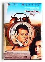 Groundhog Day映画ポスター冷蔵庫マグネット( 2x 3インチ)