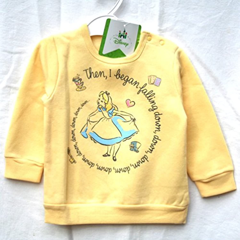 (ディズニー) Disney ディズニーベビー子供服 トレーナー アリス イエロー サイズ:90