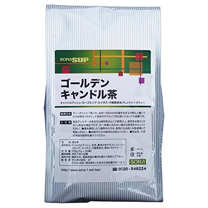 流出原点機構そら ゴールデンキャンドル茶 (主成分キャンドルブッシュ) 【4gティーパック × 30包】