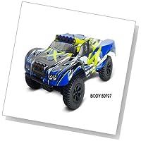 HSP 94817 1/18スケール4WD東京電力ショートコースRCトラック:ブルー