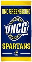 WinCraftノースカロライナ大学Greensboro UNCG SpartansビーチタオルwithプレミアムSpectraグラフィックス30x 60cm
