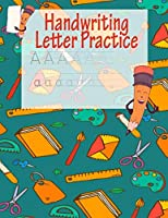 Handwriting Letter Practice: ABC Preparation | Learn Alphabet Print Letters | Primary and Preschool | Green