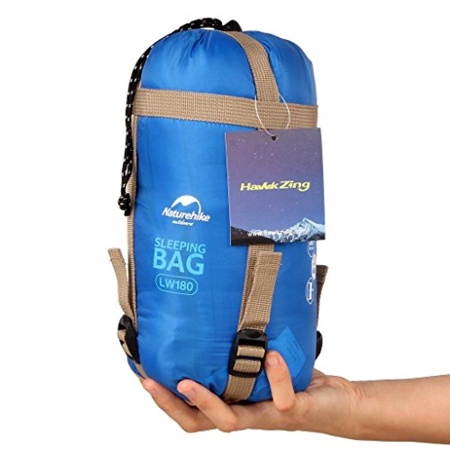 でペース可能性NatureHike Naturehikeポータブル屋外旅行寝袋 ハイキング封筒寝袋 春 夏 秋のための多機能キャンプ用寝袋