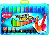Maped Helix USA Color'Peps Smoothie Gel Crayons, Pack of 12 (836112) by Maped [並行輸入品]