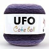 UFO Cake Ball ケーキボール グラデーションマルチカラー アクリル ウール 毛糸 200g, 350m col.01 SCYarn