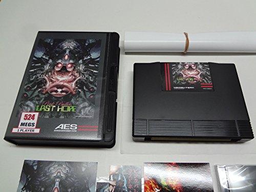ラスト・ホープ ピンク・バレッツ ネオジオ家庭用ロム 純正米版 生産限定 / Last Hope : Pink Bullets Neo-Geo English Home Cartridge Limited