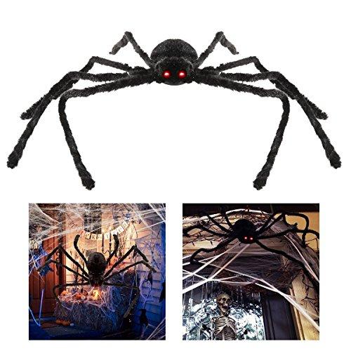 Dewel ハロウィン飾り ハロウィン装飾小道具  お化け屋敷装飾用品 バーの装飾 スパイダー 蜘蛛 ぬいぐるみ おもちゃ