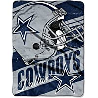 NFL ディープスラント マイクロラッセル ブランケット 46インチ x 60インチ