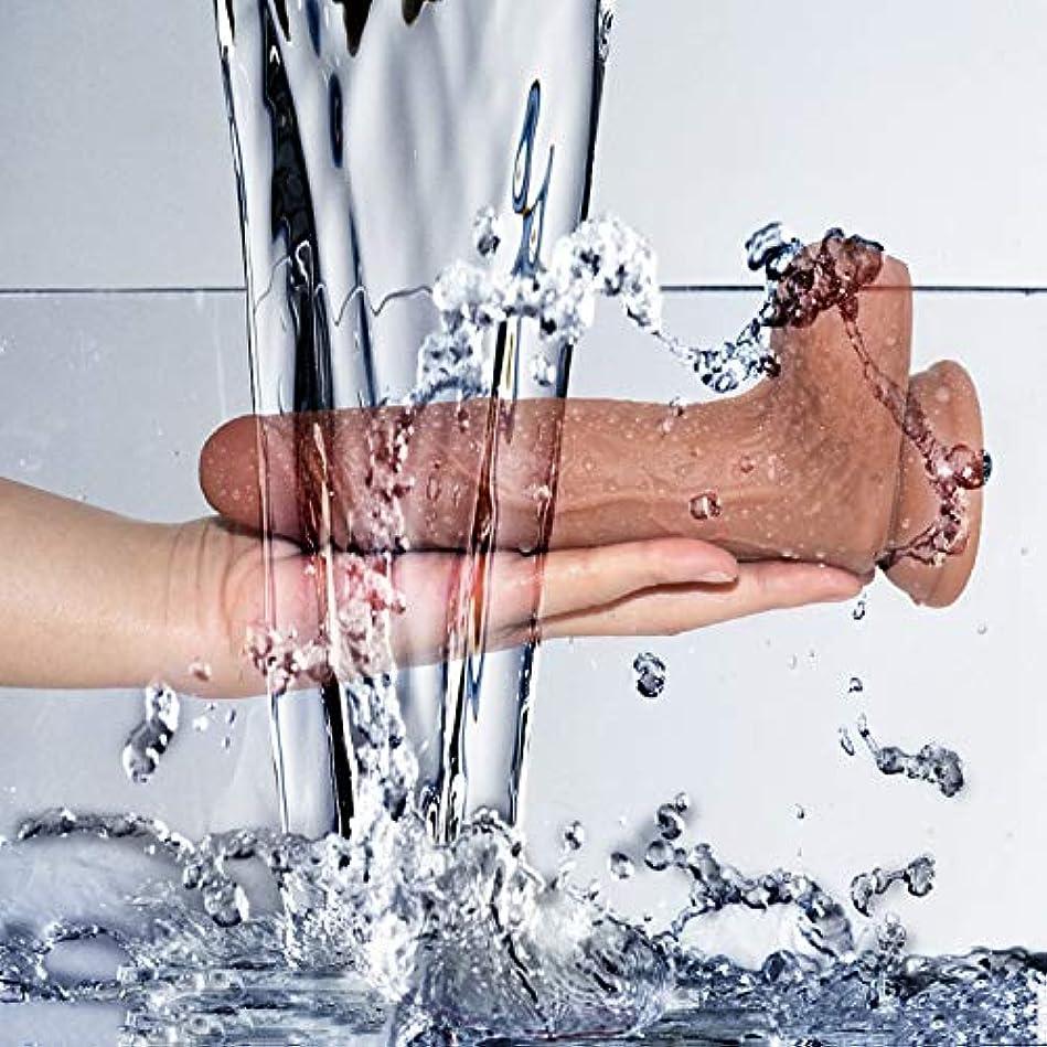 臨検ガラガラ無条件8.07 In RealisticSoft-?îld?Body Relax Massager forSéx、初心者向けのリアルなサクションカップツール ファッション雑貨