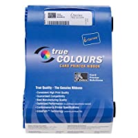 Zebra card 800017-248 I Series Cartridge Ribbon with 1 Cleaning Roller for P120I Printer, YMCKOK True Color by Zebra card