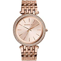 Michael Kors Darci Rose Gold Stainless Steel Watch