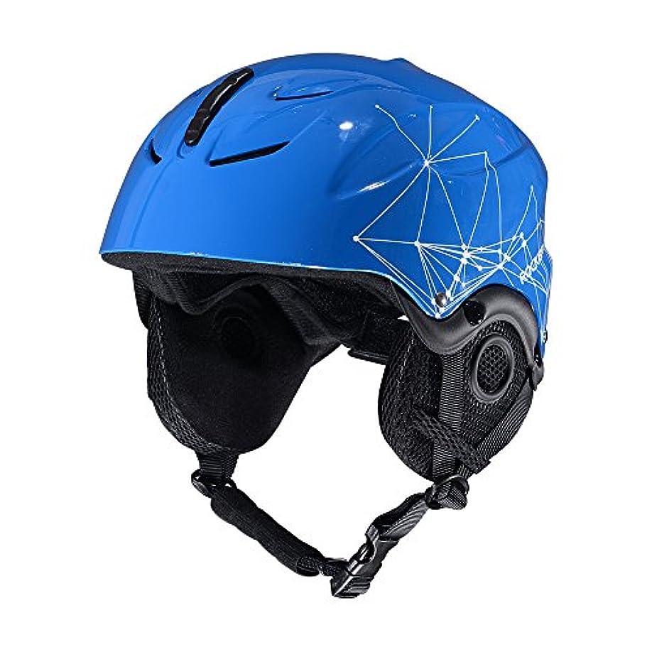 無謀積極的に香ばしいROCKBROS(ロックブロス)スノボ用ヘルメット スキー スノボードヘルメット 大人用 ダイヤルサイズ調整可 ユニセックス