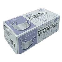 林商会 「3PLYソフトサージカルマスク レギュラー 964200 白 50枚入×3箱」
