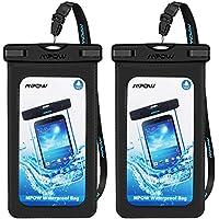 Mpow [アップグレード]防水ケースアームバンド付きipx8ユニバーサル携帯電話ドライバッグWateproof、防塵、ショック、ポーチバッグfor iPhone 8/ 8plus / 7/ 7plus / 6s / 6/ 6plus Samsung Galaxy s8/ s7、HTC、Google Pixel