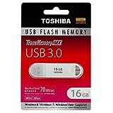 16GB TOSHIBA 東芝 USB3.0対応 USBメモリー TransMemory-MX ホワイト 海外リテール V3SZK-016G-WH [並行輸入品]