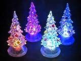 クリスマス LED クリスタルツリー イルミネーションS
