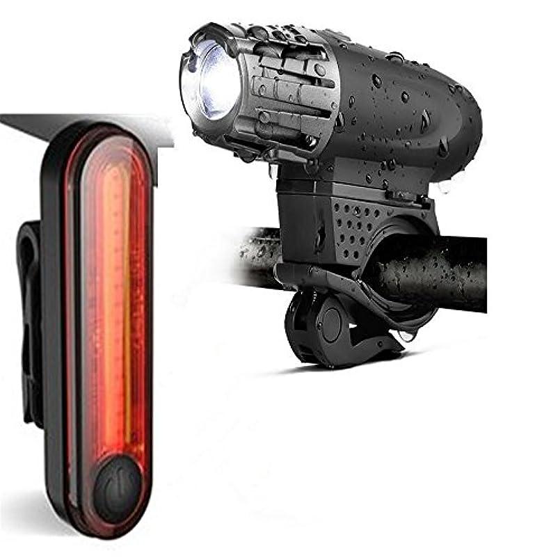 アーク契約した複雑でない充電式自転車ライト 自転車ライトUSB再充電可能な自転車の前部ライト、LED周期のヘッドライトランプのバイクライト