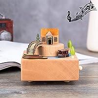オリジナリティ木製のオルゴール、家の装飾のランダムスタイル配信 (SKU : Hc7870w)