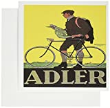 BLNヴィンテージ自転車広告ポスター–Alderフランクフルトドイツ自転車広告ポスター–グリーティングカード Set of 6 Greeting Cards