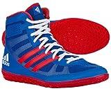 adidas MAT WIZARD.3 WRESTLING SHOES レスリングシューズ (S77970) BLUE/SCARLE/FTWWHT (26.0cm(MENS 8.0)) [並行輸入品]
