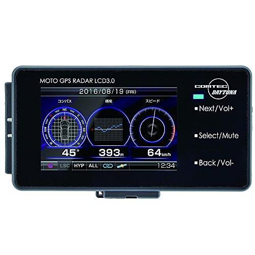 デイトナ(Daytona) バイク用GPSレーダー MOTO GPS RADAR LCD 3.0 94420