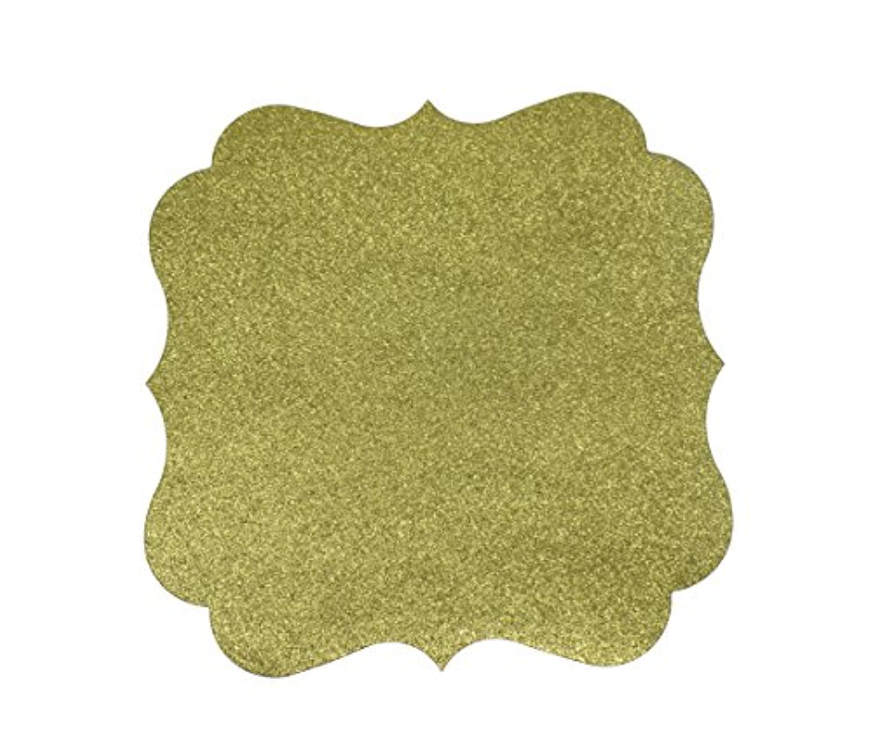papergala用紙Glitterプレースマットチャージャーのプレートや結婚式10パック 12