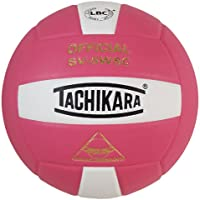Tachikara SV5WSC Sensi Tec人工皮革ハイパフォーマンスバレーボール One Size ブラック