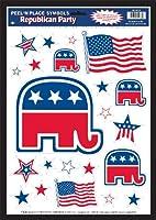 Republican Party Peel 'N Place 共和党ピール'Nの位置に配置♪ハロウィン♪クリスマス♪