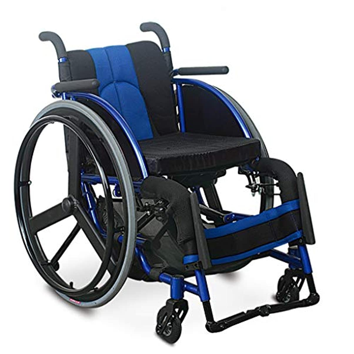 繰り返すタップ噛む車椅子折りたたみ、PUミリオンフロントホイール、高齢者障害者用車椅子トロリー