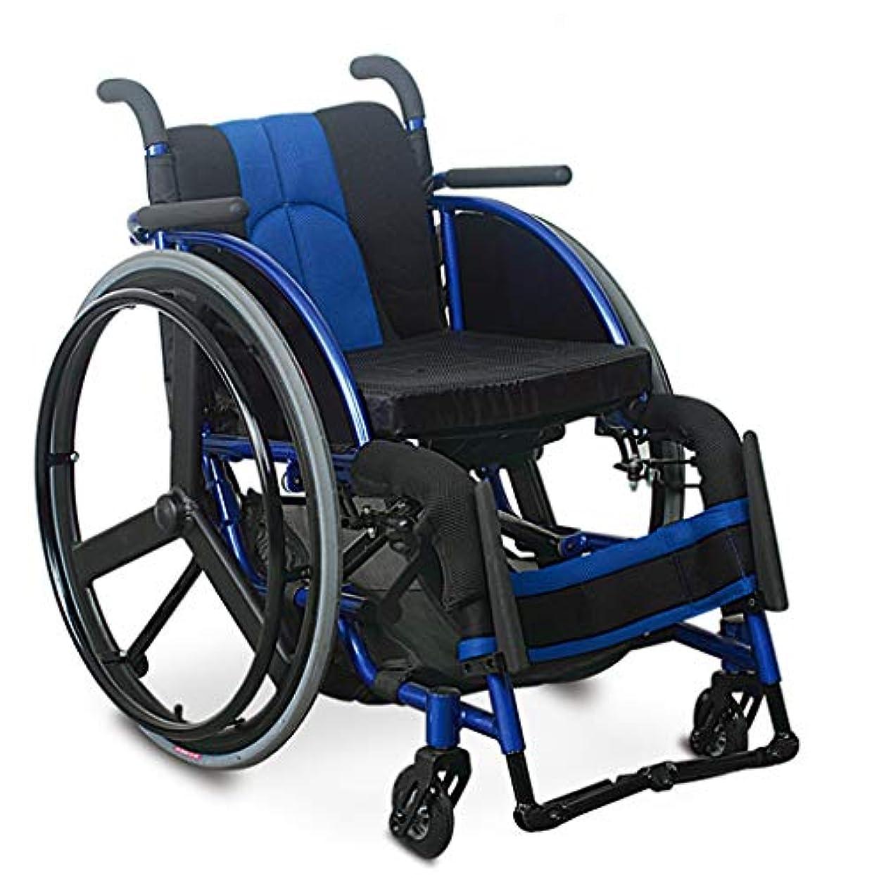 敵対的混乱沼地車椅子折りたたみ、PUミリオンフロントホイール、高齢者障害者用車椅子トロリー