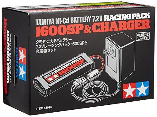 7.2Vレーシングパック 1600SPと充電器 55096