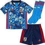 [アディダス] キッズサッカーウェア Kids サッカー日本代表 2020 ホーム ミニキット(GEM15) トゥルーブルー(ED7354) 日本 J110 (日本サイズ110 相当)
