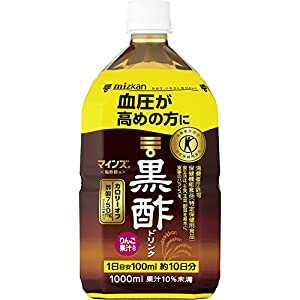 [トクホ]ミツカン マインズ<毎飲酢> 黒酢ドリンク 1000ml