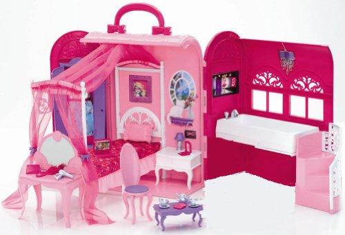バービー バービーのときめきベッドルーム(X7415)